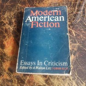 MODERN AMERICAN FICTION