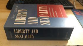 英文原版 自由和性 Liberty and Sexuality: The Right to Privacy and the Making of Roe v. Wade, Updated