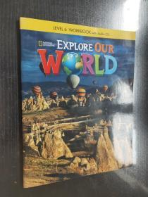 Explore Our World 6 、 workbook with audioCD 英文原版 2本书 含一张CD