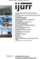 International Journal of Urban and Regional Research, Volume 40, Number 1