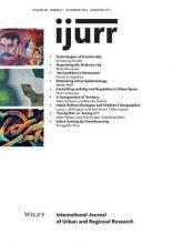 International Journal of Urban and Regional Research, Volume 40, Issue 5