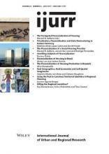 International Journal of Urban and Regional Research, Volume 41, Issue 4