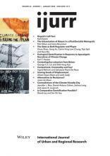 International Journal of Urban and Regional Research, Volume 44, Issue 1