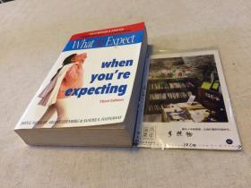 英文原版 WHAT TO EXPECT WHEN YOU'RE EXPECTING  //