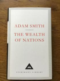 The wealth of nations 国富论 Adam Smith 亚当史密斯 Everyman's Library 人人文库