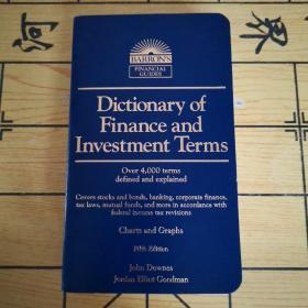 Dictionary of Finance and Investment Terms(原版书)