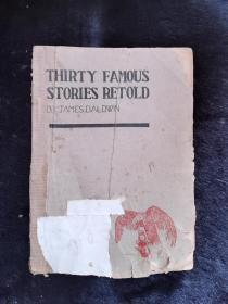 Thirty famous stories retold