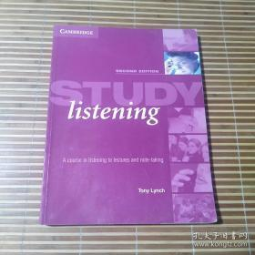 Study Listening: A Course in Listening to Lectures and Note-Taking内有铅笔字迹