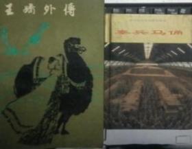 Z053 王嬙外傳(88年1版1印、根據《雙鳳奇緣》改編的王昭君章回體傳奇小說)