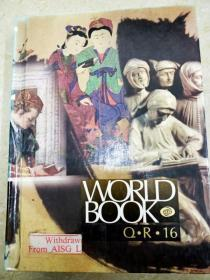 8787 world book q.r.16  the world book encyclopedia