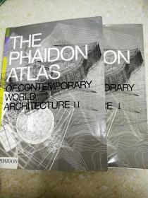 8834 the phaidon atlas of contemporary world architecture  I II