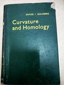 8875 curvature and homology samuel I goldberg 【封面有破损】