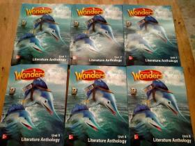 Wonders    literature   anthology  unit1-6(合售)