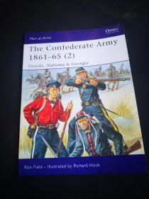 買滿就送 osprey系列 426 confederate Army 1861-65  (2)