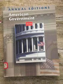 American government (annual editions) 03/04