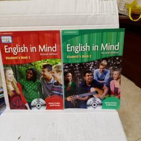 English in Mind Level 1 Student's Book with DVD-ROM    2本合售
