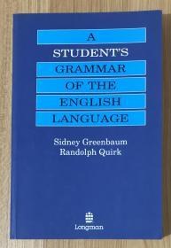 A Student's Grammar of the English Language 朗文英语语法 9780582059719