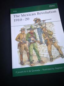 買滿就送 OSPREY系列 墨西哥 1910-1920年的戰爭