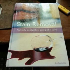 Stain  Removal(Your  really  useful  guide  to  getting  rid  of  stains)  16开精装