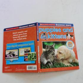 Scholastic Discover More: Puppies & Kittens  学乐发现:小猫小狗
