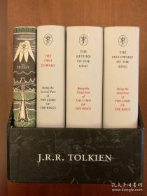The Middle-earth Treasury: The Hobbit and The Lord of the Rings (Boxed Set Edition) (精装全套四册)