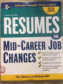 Resumes for Mid-Career Job Changes, 3rd edition (Professional Resumes Series)