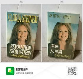 LORIA SIEINEM  REVOLUTION  FROM WITHIN  A Book of Sel- Esteem 洛丽娅·伊宁  革命  从里面  一本关于Sel的书