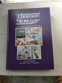 Thomas Stowage The properties and stowage of eargoes