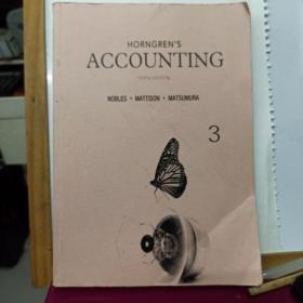 Horngren's Accounting (10th Edition)   第三册  院校复制版