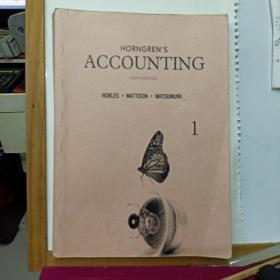 Horngren's Accounting (10th Edition)   第一册  院校复制版