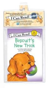 Biscuit's New Trick (Book + CD) (My First I Can Read)[小饼干的新点子]