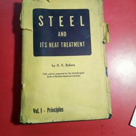 STEEL AND ITS HEAT TREAT MENT(钢及其热处理,原版)