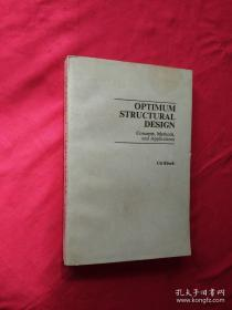OPTIMUM STRUCTURAL DESIGN Concepts Methods and Applications