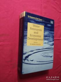 the management of water resources 3;Water Resources and Economic Development