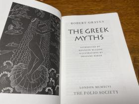 The Greek Myths     两册