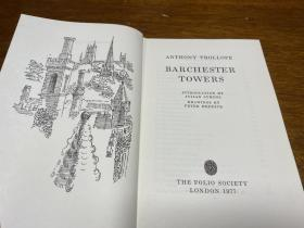 Barchester Towers   folio society出版