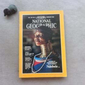 NATIONAL GEOGRAPHIC VOL.169 No.2 1986