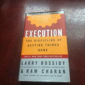 Execution The Discipline Of Getting Things Done执行完成任务的纪律