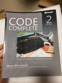 现货 Code Complete: A Practical Handbook of Software Construction 英文原版  代码大全(第2版)  迈克康奈尔  Steve McConnell
