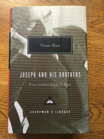 Joseph and his brothers 约瑟夫和他的兄弟们 Thomas Mann 托马斯曼 Everyman's Library 人人文库