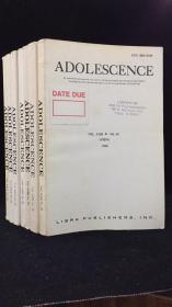 ADOLESCENCE(青春期 七冊合售 總第89-92 94-96)