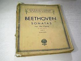 BEETHOVEN SONATAS For the piano(贝多芬钢琴奏鸣曲)