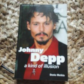 Johnny Depp: A Kind of Illusion(英文原版插图本)
