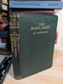 THE BLACK ARROW R.L.STEVENSON 三面刷绿色