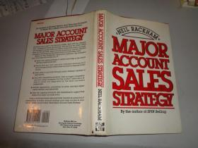 Major Account Sales Strategy 精装