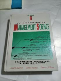 An lntroduction to Management Science Quantitative Approaches to Decision Making SIXTH  EDITION
