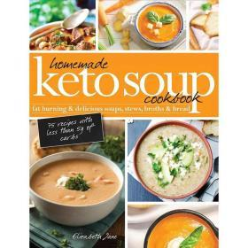 Homemade Keto Soup Cookbook【中图POD】