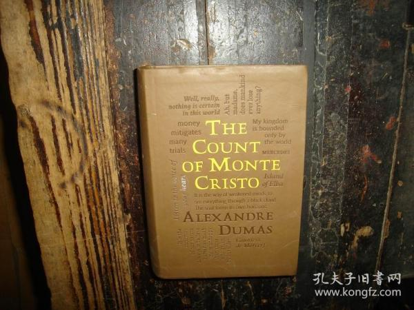基督山伯爵 英文原版 大仲马 The Count of Monte Cristo