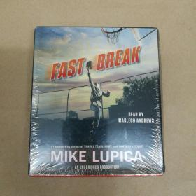 Fast Break: Mike Lupica 快攻 MacLeod Andrews朗读(有声书 5CD 塑封)