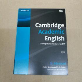Cambridge Academic English C1 Advanced  剑桥学术英语C1高级 DVD